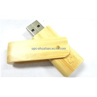 New Gifts Bamboo Swivel USB Flash Disk