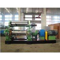 Open Mixing Mill/Rubber Mixer/Mixing Mill with Stock Blender