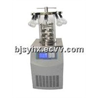 Vacuum freeze dryer ( LGJ-12 with stopper and manifold)