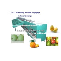 XGJ-Z1 fruit sorting machine for papaya, mango, melon