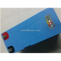 12V rechargeble battery with LED power indicator