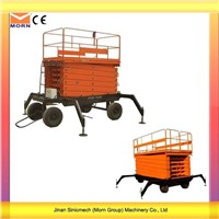 14m Four Wheels Mobile Scissor Lift
