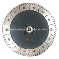 180mm Diamond Turbo Saw Blade