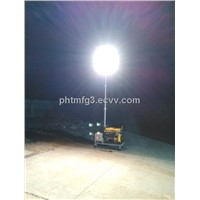2000W Lighting Tower with 5000W diesel generator
