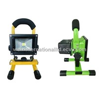2013 hot sale ! LED rechargeable flood lights 5W /10W/20W portable emergency lights with CE & ROHS