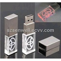 2013 Novetly Acrylic USB Flash Drive-J001