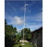 2013hot sale 1kw wind turbine generator AC24V/48V for household