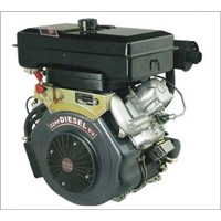 22hp V-twin air-cooled diesel engine