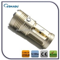 3CREE XML T6 LED  3000lumen High Power CREE LED Flashlight