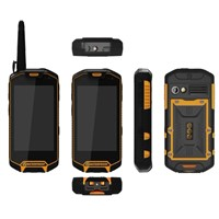 3G Rugged IP67 Waterproof Android Smartphone, PTT Walkie Talkie, 3,800mAh Battery, Dual Cameras/GPS