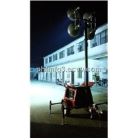 4000W Mining and Infrastructure Mobile Lighting Tower