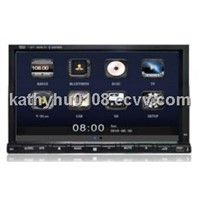 7 inch TFT HD LCD touch screen car multimedia player with radio, bluetooth, etc