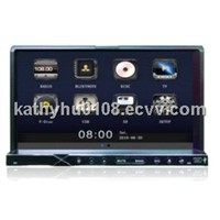 7 inch universal car DVD GPS with ipod, bluetooth, radio, rds, etc