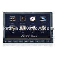 7'' universal car DVD player/ multimedia/audio/video/radio/bluetooth/ipod...