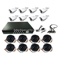8CH CCTV Camera and DVR Kit/CCTV DIY Kits (LY-CCTVKITS01-8CH)