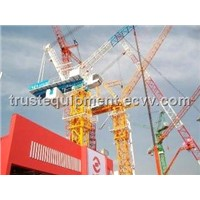 8 tons luffing jib tower crane