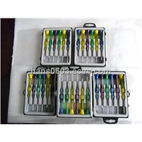 Acetate handle precision electronic screwdrivers