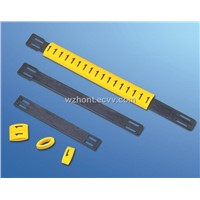 Cable Marker Strip Nylon Marker Strip,ECM Cable Marker Cable Plate