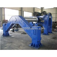 Cement Pipe Making Machine of Roller Suspension