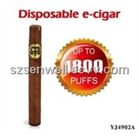 Disposable 1800puffs e-Cigar with Gift Box Packaging