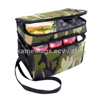 Dual Compartment Camping Cooler Bag(Km-Icb0006), Hiking Cooler, Ice Cooler, Lunch Bag, Picnic Bag