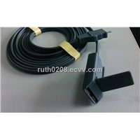 Esu grounding pad cable,Groundig plate cable.grounding pad with REM system,clamp for grounding