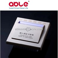 European style energy saving key card switch for hotel