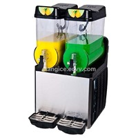 Double Drums Fast Cooling and Easy Operation Frozen Drink Slush Machine