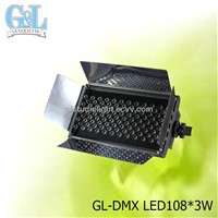 GL-DMX LED108*3W led light panel camera light