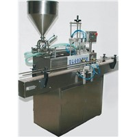 GT2T-2G Double Heads Full-Automatic Dense Catsup Filling Machine