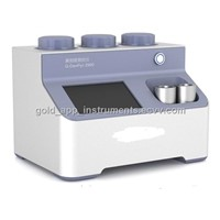 G-DenPyc 2900 gas pycnometer helium true density analyzer