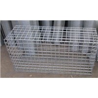 Galfan-coated welded mesh  Gabion Box stone cage