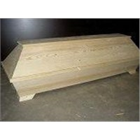German style cheap wooden coffin for sales in china