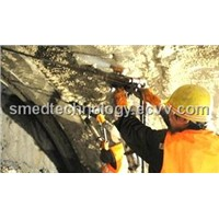 Handheld Air Leg Rock Drill for Blasting Hole Drilling