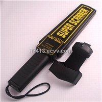 Handheld Metal Detector with 9v Battery, Suitable for Working 40 Hours, LED Light Warning
