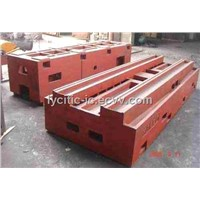 Heavy Steel Casting Machine Body