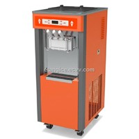 3 Phase high output Soft Serve Ice Cream Machine For Super Market