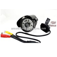 Indoor/Outdoor night vision Water-proof  Surveillance Camera, Support External Tf Card