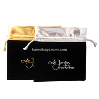 Jewelry Bags (KM-VEB0023), Velvet Bags, Gift Bags, Drawstring Bags, Promotion Packing Bags