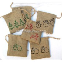 Jute Bag(Km-Jtb0005), Promotion Packing Bag, Gift Bag, Drawstring Bag, Eco-Friendly Bag