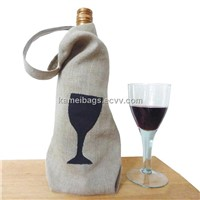 Jute Wine Bags(KM-WNB0064), Jute Bags, Gift Bags, Bottle Bags, Promotion Packing Bags