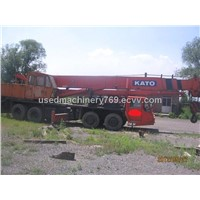 Kato 50ton mobile crane - Construction Equipmnt