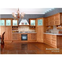 Solid Wood Oak Kitchen Cabinet -OP11-X146