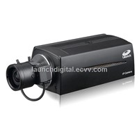 Launch 3.0 Megapixel WDR Box IP Camera / IP Wireless Camera