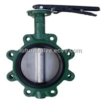 Lug Type Butterfly Valve with PIN