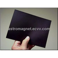 Magnetic Material with Isotropic Plain Plastic Sheeting