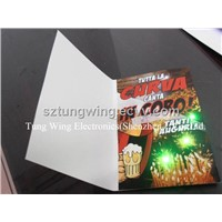 Music LED Greeting Card