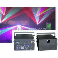 New Hot Compact 5w RGB Laser Lighting with 637nm Good Red Beam for Animation and Beam Laser Show