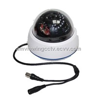 Night vision Dome Security CCTV Camera DVR, external Tf Card for local storage,motion detection.
