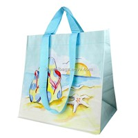 Non-Woven Beach Bag (KM-BHB0064), Shopping Bags, Tote Bags, Handle Bags, Promotion Gift Bags